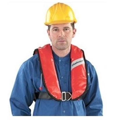 Picture of Challenger Worksafe 170 N CE approved inflatable lifejacket
