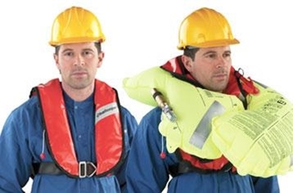 Picture of Challenger Worksafe 300N CE approved inflatable lifejacket