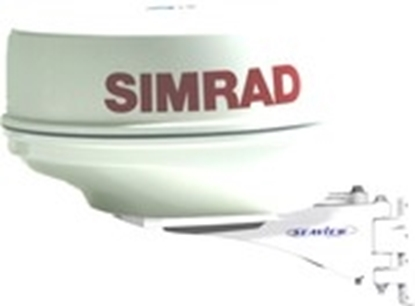 "Picture of seaview sailboat mast platform for 18"" Simrad radome radars"