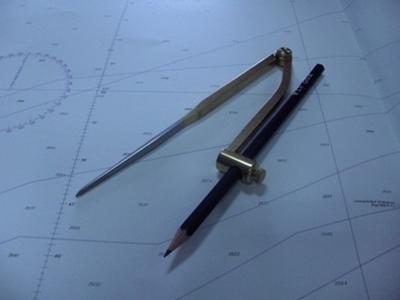 Picture of Compasso com porta lapis de 7''