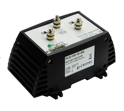 Picture of Cristec battery isolator 100A/ 1 input - 2 outputs