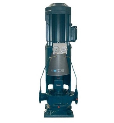 Picture of Azcue vertical IN-LINE centrifugal pump
