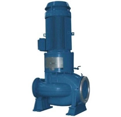 Picture of Azcue vertical IN-LINE centrifugal pump double suction impeller