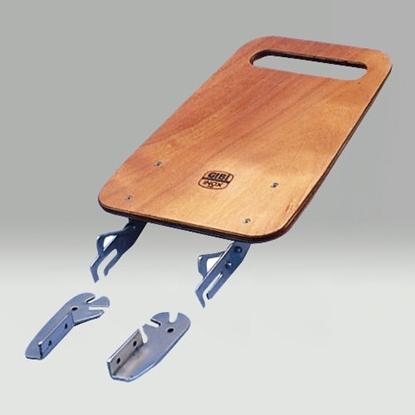Picture of Kit costas da cadeira em madeira e inox