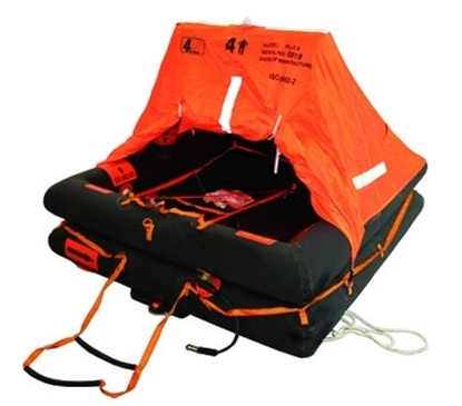 Picture of Coastal 4 persons liferaft ISO 9650-2 T3 - bag