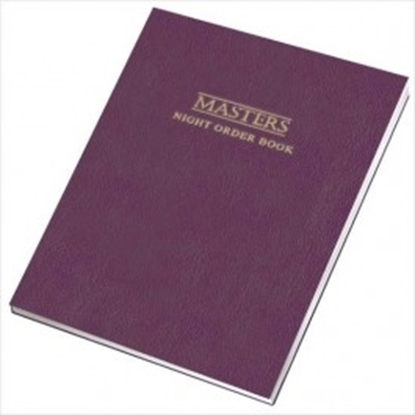 Picture of Masters Night Order Book