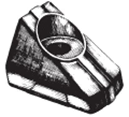 Ânodo de zinco para motor Suzuki 4HP