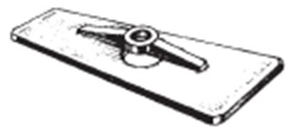 Ânodo de zinco para motor Mariner/Yamaha 6/8 HP