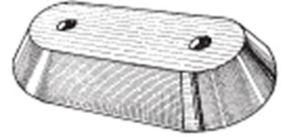 Ânodo de zinco para motores OMC/ Johnson/ Envirude