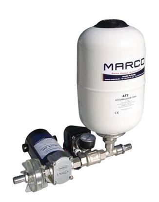 Bomba de pressão de água UP12/A-V5 Marco c/ depósito