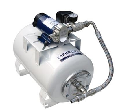 Bomba de pressão de água UP12/A-V20 Marco c/ depósito