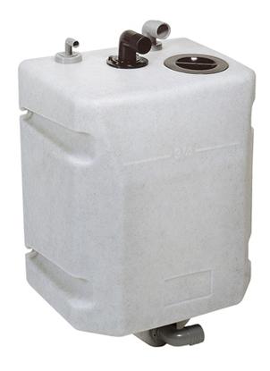Tanque p/ águas sanitárias para fixar em antepara Vetus