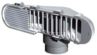 Picture of Tomada de ar com rede para tubo de ar Vetus