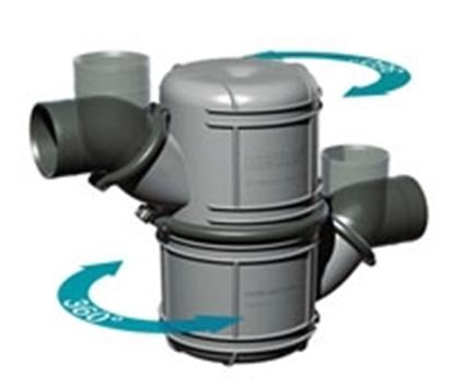 Colector silencioso Vetus NLP 4.5 litros
