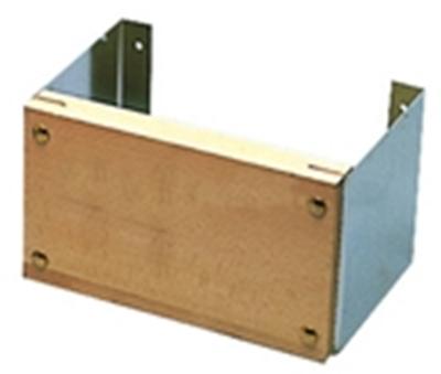 Picture of Suporte fixo bloco polido de aço inoxidável 12 HP