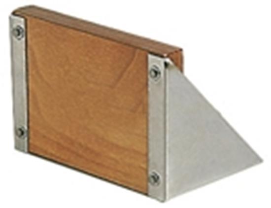 Picture of Suporte fixo bloco polido de aço inoxidável 15 HP