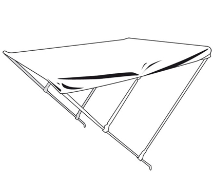 Picture of Aluminium bimini