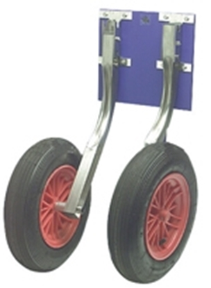 Picture of Dinghy hauling wheels - Folding Type