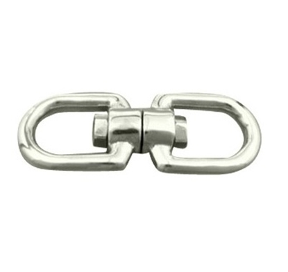 Picture of AISI 316 stainless steel double eyed swivel