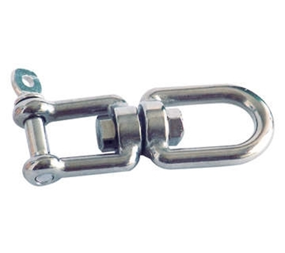 Picture of Mirror polished AISI 316 stainless steel swivels
