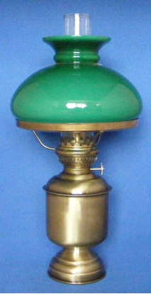Picture of Table lamp large with glass shade