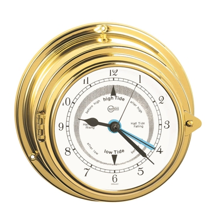 Picture of Porthole ship's tide clock Yacht