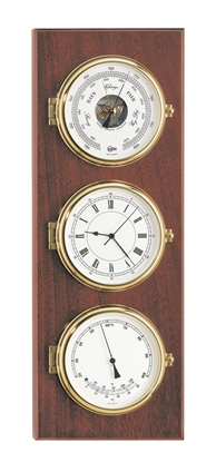 Picture of Weather station/quartz clock Captain series