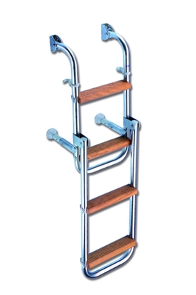 Picture of Satinless steel floding boarding ladder