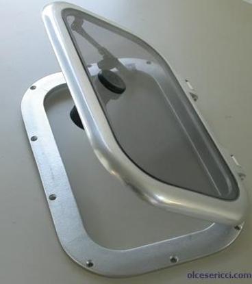 Escotilha de alumínio