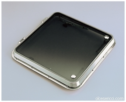 Picture of stainless steel hatch