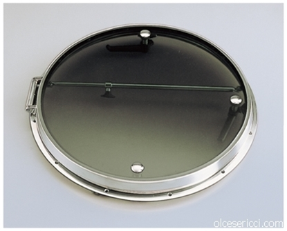 Picture of stainless steel round hatch