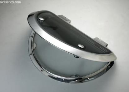 Picture of Stainless steel half-round hatch
