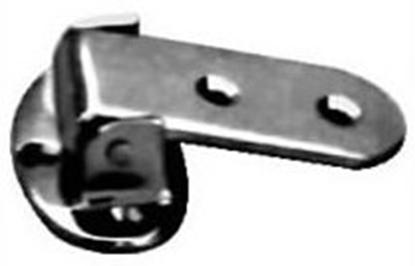 Picture of Dobradiça em latão cromado com pino em aço inox