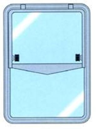 Picture of Linha simples Gebo - vidro único/janela articulada