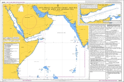 ANTI-PIRACY PLANNING CHART / Red Sea-Gulf of Aden & Arabian Sea