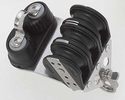 Picture of Triple ball bearing blocks 10 mm w/ cam cleat
