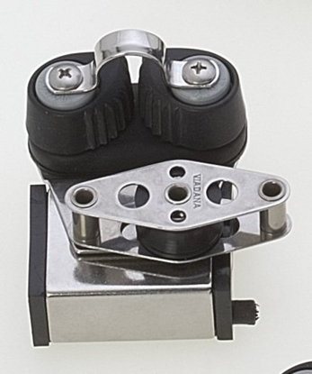 Picture of Track end stop with ball bearing block, becket and ball bearing