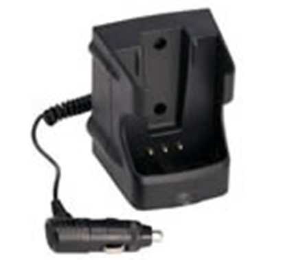 Picture of CCA12 12V DC regular charger for HT series hand portable radio