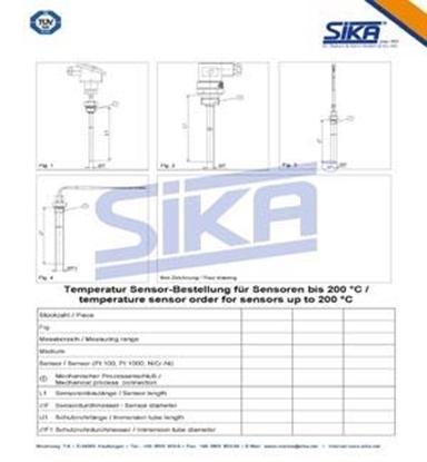 Formulário de consulta p/ temperaturas até 200º C