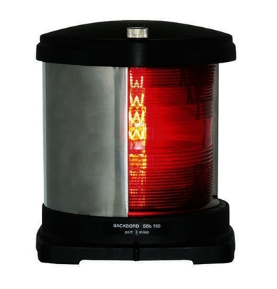 Picture of 760 Side light  Port - red