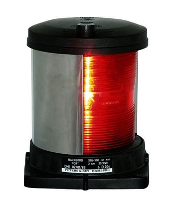 Picture of Side light Port - red
