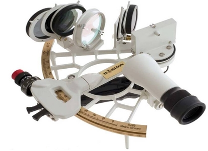 Picture of Cassens & Plath Horizon-Ultra marine sextant - White