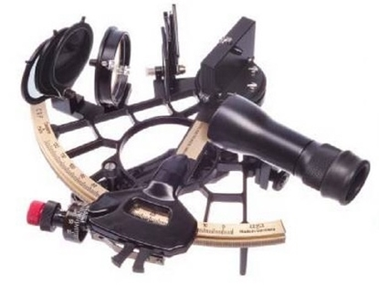 Picture of Cassens & Plath Bobby-Schenk sextant - Black - no name engravure