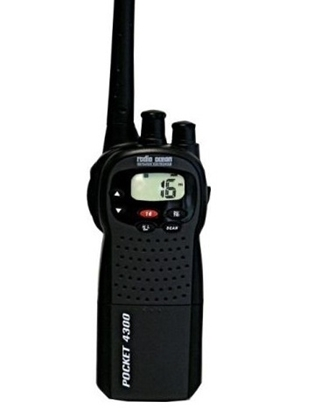 Picture of Pocket 4300 VHF portable radio + cigarette charger + micro