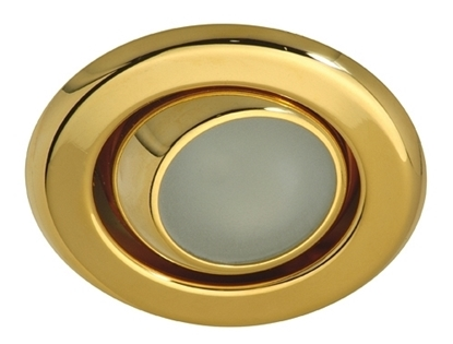 Picture of Calais downlight swivel12V - 20W - brass matt