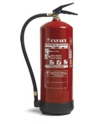 Picture of Dry powder portable PI-6S ABC fire extinguisher