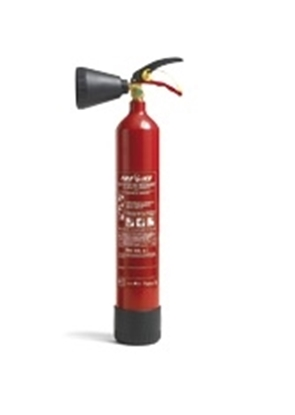 Picture of CO2 FI 2000 fire extinguisher SOLAS