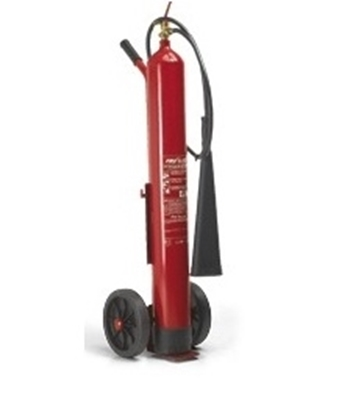 Picture of CO2 FI 10000 fire extinguisher SOLAS