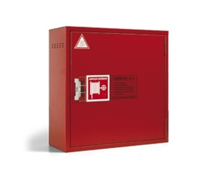 Picture of Reels with fire extinguisher box