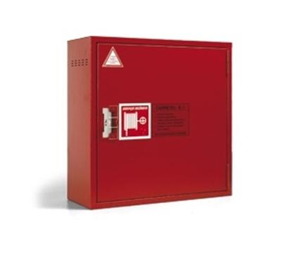 Carretel c/ caixa e compartimento p/ extintor